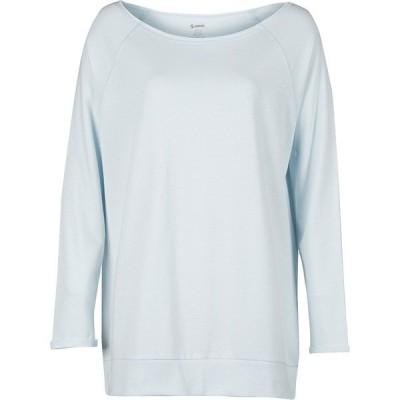 ソッフ シャツ トップス レディース Soffe Juniors' Dance Crew Sweatshirt CloudBlue
