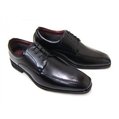 HIROKO KOSHINO/ヒロコ コシノ ビジネス HK4553Z紳士靴 ブラック スワールモカ 外羽根 ロングノーズ 3Eワイズ ビジネス 簡易防水 透湿 防滑ソール 送料無料