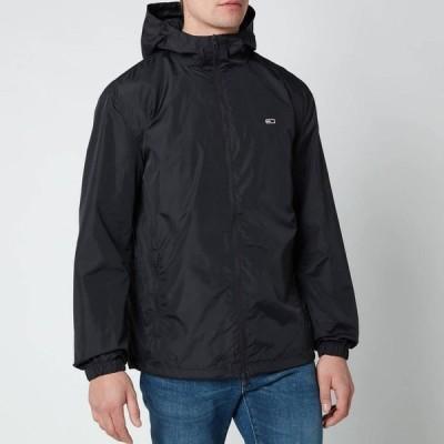 トミー ジーンズ Tommy Jeans メンズ ジャケット ウィンドブレーカー アウター Packable Windbreaker Jacket - Black Black