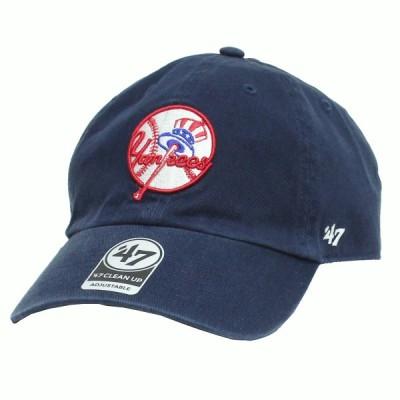 【ネコポス便 \200対応】 47Brand MLB01610 Yankees '47 CLEAN UP ヤンキース '47クリーンナップ オールシーズン対応 Primary Logo
