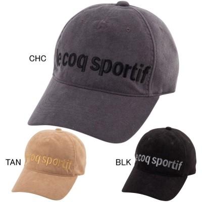 ルコックスポルティフ スポーツ 帽子 キャップ ハット  ユニセックス スエードキャップ le coq sportif QLBQJC65