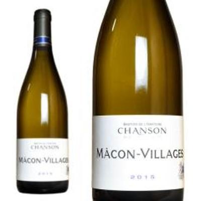 マコン・ヴィラージュ 2016年 シャンソン・ペール・エ・フィス 正規 750ml (フランス ブルゴーニュ 白ワイン)
