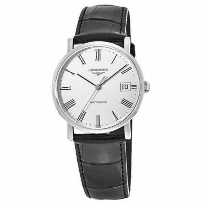 ロンジン 腕時計 New Longines Elegant Collection White ホワイト Dial レディース Watch L4.809.4.11.2
