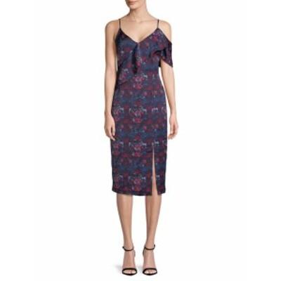 レイチェルレイチェルロイ レディース ワンピース Asymmetrical Ruffle Front Printed Dress