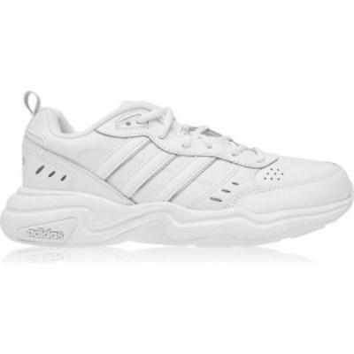 アディダス adidas メンズ スニーカー シューズ・靴 Adidas Strutter Trainers White