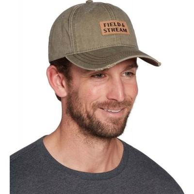 フィールドアンドストリーム Field & Stream メンズ 帽子 Rectangle Logo Patch Hat Khaki