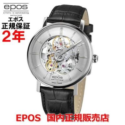 国内正規品 EPOS エポス メンズ 腕時計 自動巻 Originale Retro Skeleton オリジナーレ レトロ スケルトン 3437SKSL