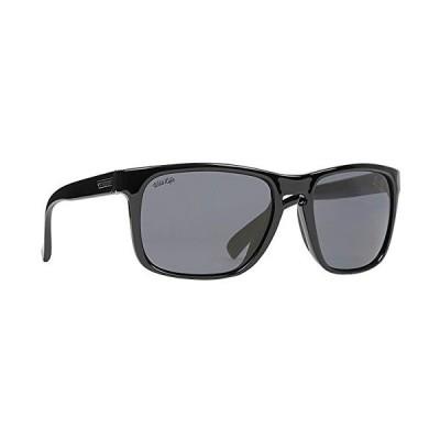VonZipper Lomax Wildlife Polarized Sunglasses (Black Gloss/WL Smoke Glass Polar) 並行輸入品