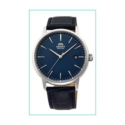 Orient RA-AC0E04L メンズ マエストロレザーバンド ミニマリスト ブルーダイヤル 自動腕時計【並行輸入品】