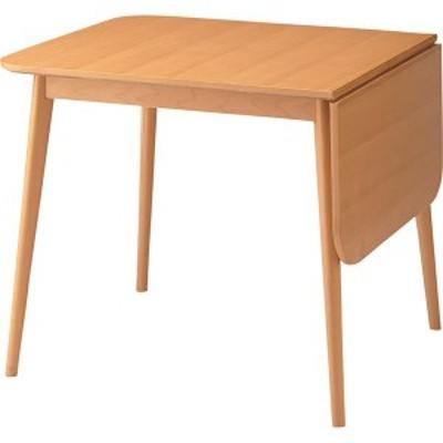 伸長式ダイニングテーブル(ロッキ ドロップリーフテーブル) 木製 TK-113T 〔送料無料〕