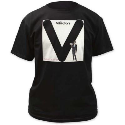 VIBRATORS ヴァイブレーターズ - THE VIBRATORS PURE MANIA / Tシャツ / メンズ 【公式 / オフィシャル】(S)