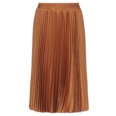 SHIRTAPORTER 7分丈スカート オークル 42 ポリエステル 100% 7分丈スカート