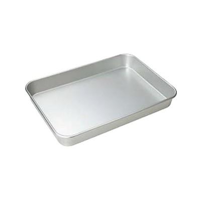 ストック 仕込み 厨房用品 / アカオ アルマイト大型バット 中 寸法: 314 x 242 x H54mm