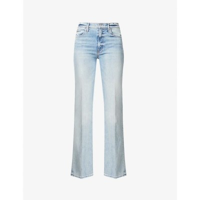 マザー MOTHER レディース ジーンズ・デニム ボトムス・パンツ The Kick It straight-leg mid-rise stretch-denim jeans Wild Calling