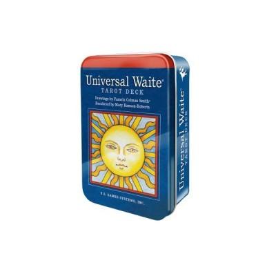 Universal Waite Tarot Deck Tin ユニバーサル ウェイト・タロット(缶入り) タロットカード 78枚 ウェイト版