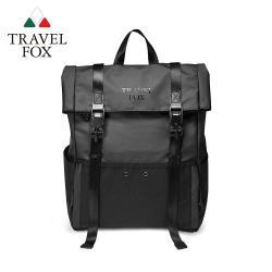 TRAVEL FOX SELECT 旅狐 黑潮美學防潑水後背包 (TB801-01)黑色