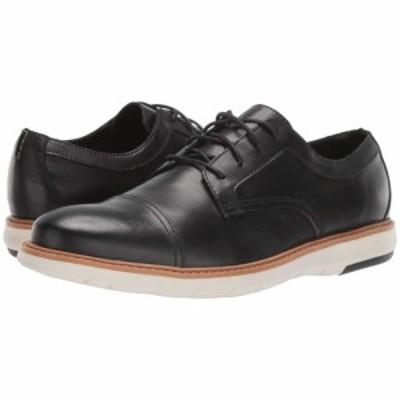 クラークス Clarks メンズ 革靴・ビジネスシューズ シューズ・靴 Draper Cap Black Leather