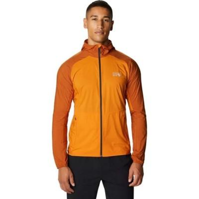 マウンテンハードウェア Mountain Hardwear メンズ ジャケット フード アウター Kor Preshell Hooded Jacket Instructor Orange