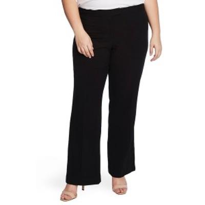 ヴィンスカムート レディース カジュアルパンツ ボトムス Suiting Wide Leg Pant RICH BLACK