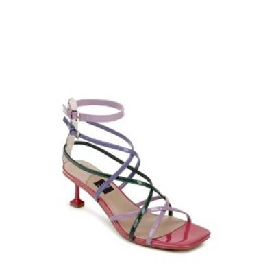 ザックポーゼン レディース サンダル シューズ ZAC POSEN Women's Angie Strappy Sandal Multi Red