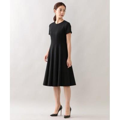 【エポカ ザ ショップ】 エアーフラノ ドレス レディース ブラック 38 EPOCA THE SHOP