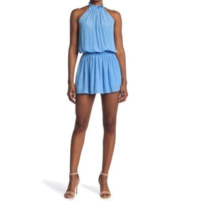 レイミー ブルック レディース ワンピース トップス Karoline Smocked Waist Halter Dress CLOUD BLUE
