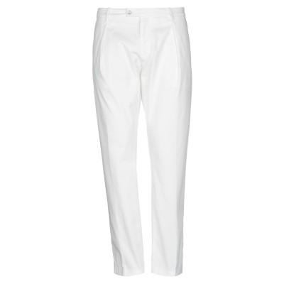 YCHAI パンツ ホワイト 29 コットン 97% / ポリウレタン 3% パンツ