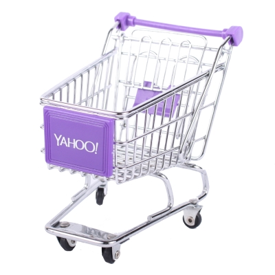 Yahoo! 迷你收納購物推車(單層)套裝組100台