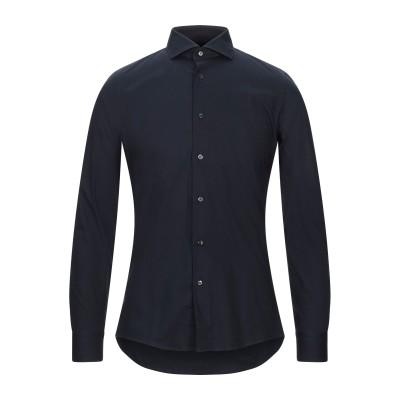 ALEA シャツ ダークブルー 40 コットン 97% / ポリウレタン 3% シャツ