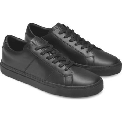 グレイツ GREATS メンズ スニーカー シューズ・靴 Royale Sneaker Black Leather/Black