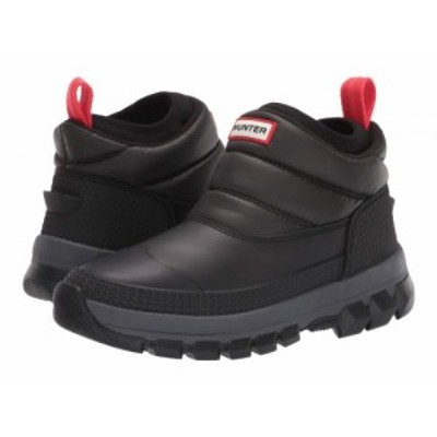 HUNTER ハンター レディース 女性用 シューズ 靴 ブーツ スノーブーツ Original Insulated Snow Ankle Boot Black【送料無料】
