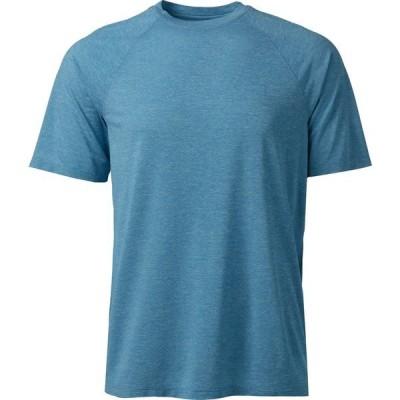 ビーシージー シャツ トップス メンズ BCG Men's Turbo Textured Short Sleeve T-shirt Blue Bright 01