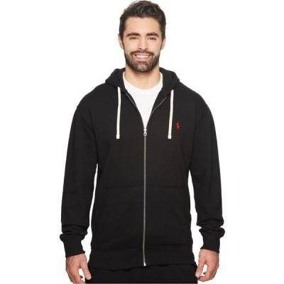 ラルフ ローレン Polo Ralph Lauren Big & Tall メンズ フリース 大きいサイズ トップス Big & Tall Classic Fleece Full-Zip Hoodie Polo Black