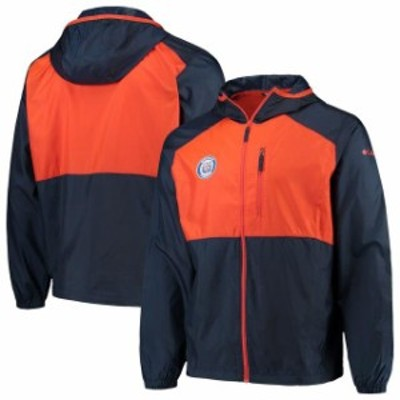 Columbia コロンビア スポーツ用品  Columbia Detroit Tigers Navy Cooperstown Collection Flash Forward Full-Zip Windbreaker Jacket
