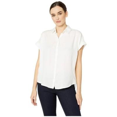 アメリカンローズ レディース シャツ トップス Davina Short Sleeve Button Up Blouse