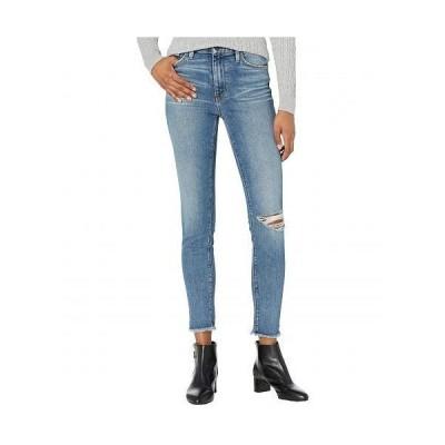 Hudson Jeans ハドソン ジーンズ レディース 女性用 ファッション ジーンズ デニム Barbara High-Waist Super Skinny Ankle in Destructed Padua - Destructe..