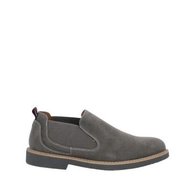 TSD12 モカシン  メンズファッション  メンズシューズ、紳士靴  モカシン グレー