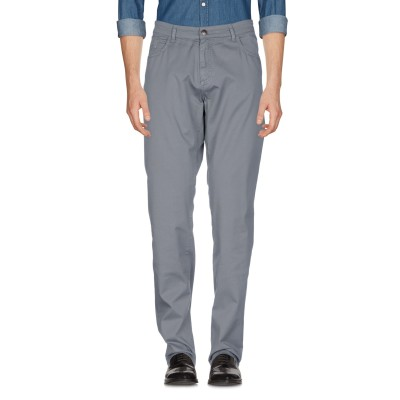 LIU •JO MAN パンツ グレー 40 コットン 98% / ポリウレタン 2% パンツ