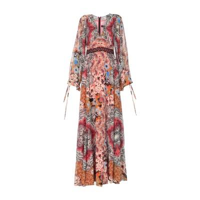 エトロ ETRO ロングワンピース&ドレス ブラウン 42 シルク 100% ロングワンピース&ドレス