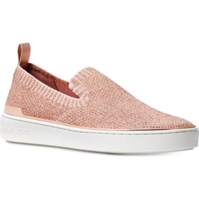 マイケル コース Michael Kors レディース スリッポン・フラット シューズ・靴 Skyler Slip-On Sneakers Rose Gold