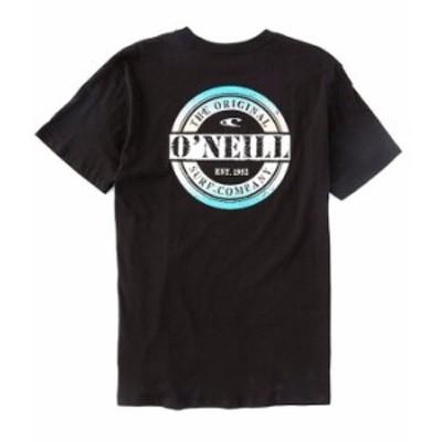 オニール メンズ シャツ トップス Standard-Fit Popcircle Short-Sleeve T-Shirt Black