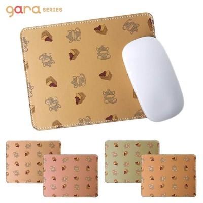 マウスパッド 革 合成皮革 おしゃれ かわいい 可愛い フェイクレザー PCアクセサリー 雑貨 ガーリー かわいい キュート