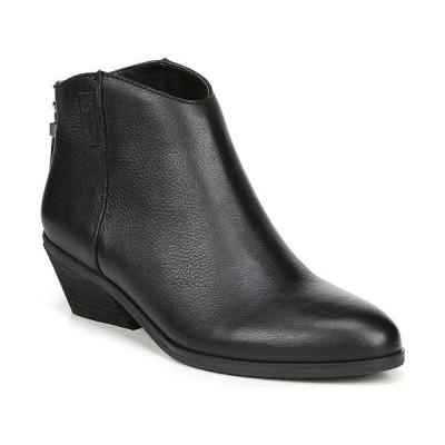 ドクター・ショール ブーツ&レインブーツ シューズ レディース Women's Lucky One Western Booties Black Leather