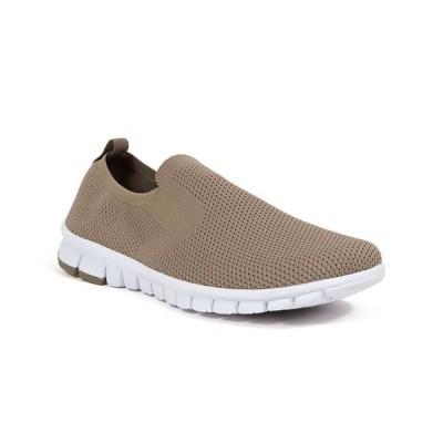 ディアースタッグス メンズ スニーカー シューズ Men's NoSoX Eddy Flexible Sole Bungee Lace Slip-On Oxford Hybrid Casual Sneaker Shoes