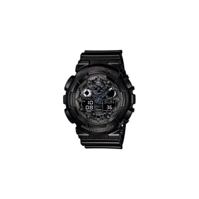 カシオ G-SHOCK スポーツウォッチ 20気圧防水 デジタル アナログ 腕時計 (GA-100CF-1AJF) ストップウオッチ 速度計測機能 LEDライト ランニング ウォッチ 時計