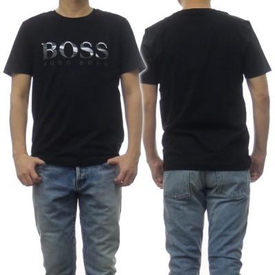 HUGO BOSS ヒューゴボス メンズクルーネックTシャツ Tee3 / 50443666 10213473 ブラック /2021春夏新作