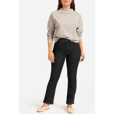 エバーレーン レディース デニムパンツ ボトムス The Authentic Stretch Skinny Bootcut Jeans DARK BLUE WASH
