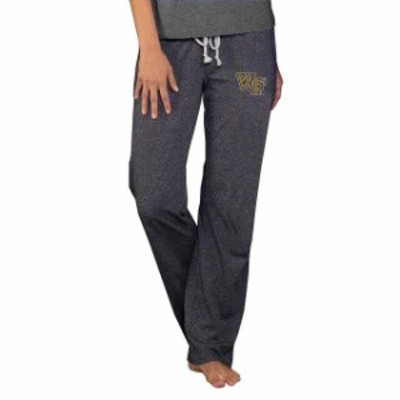 Concepts Sport コンセプト スポーツ スポーツ用品  Wake Forest Demon Deacons Concepts Sport Womens Quest Knit Pants - Charcoal