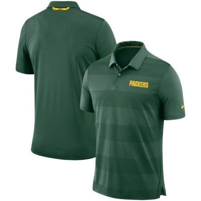 ユニセックス スポーツリーグ フットボール Green Bay Packers Nike Sideline Early Season Wordmark Performance Polo - Green Tシャツ