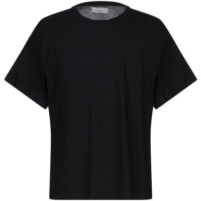 ラネウス LANEUS T シャツ ブラック XS コットン 96% / ナイロン 4% T シャツ